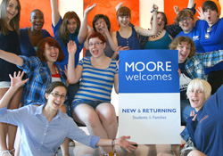 Moore Welcomes Class of 2016