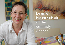 Lynne Horoschak at Kennedy Center
