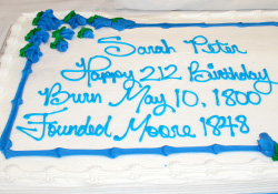 Help Us Celebrate Sarah Peter's Birthday